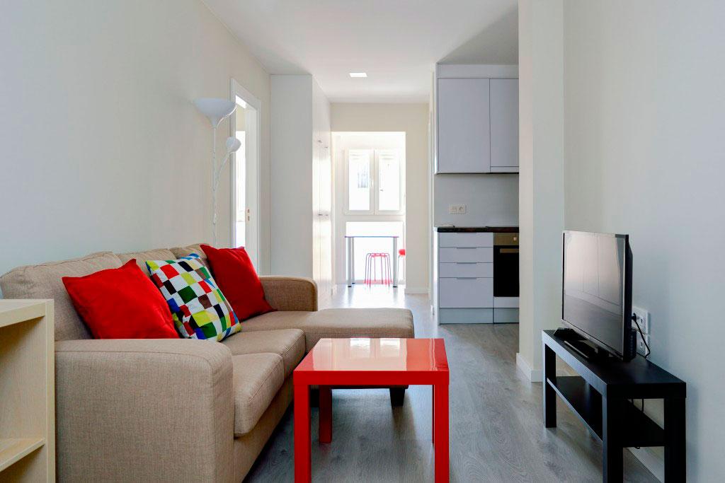 salon compartir habitacion alquilar piso zaragoza poppy rooms eduardo dato