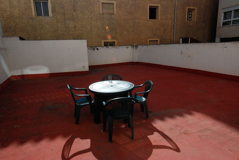Terraza luminosa alquilar habitacion zaragoza poppy rooms